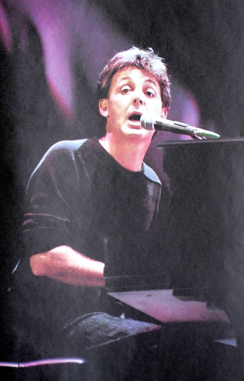 Live Aid, l'esibizione di Paul McCartney