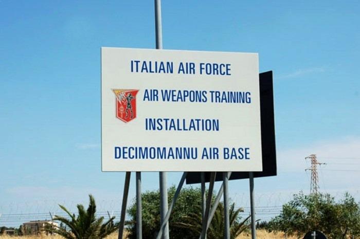 La base aerea di Decimomannu
