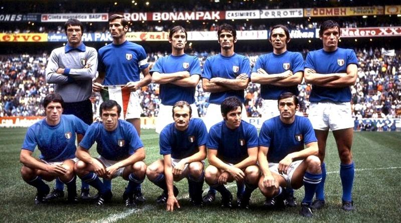 La formazione italiana in occasione di Italia-Germania 4-3