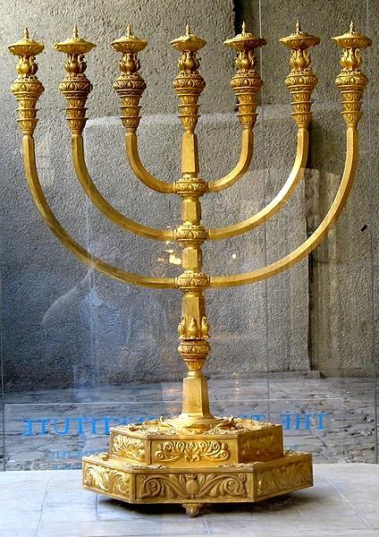La Menorah, simbolo dell'ebraismo