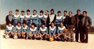 Una formazione del campionato 1984-85