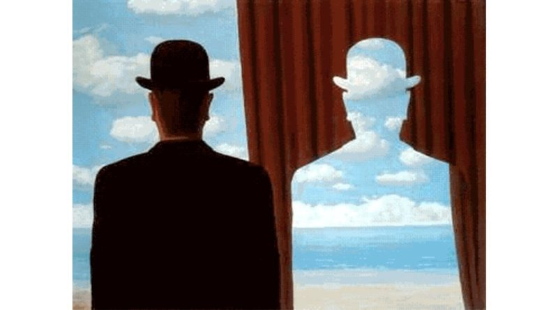 René Magritte, Decalcomania, 1966