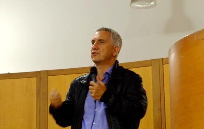 L'assessore regionale ai Lavori pubblici Paolo Maninchedda (foto Antonio Mallica)