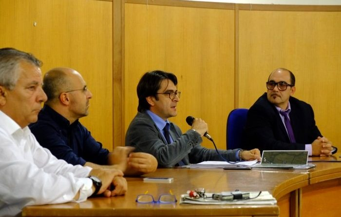 Il capo compartimento ANAS Sardegna, l'ingegner Valerio Mele (foto Antonio Mallica)