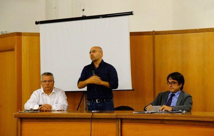 Il segretario nazionale del Partito dei sardi Franciscu Sedda (foto Antonio Mallica)