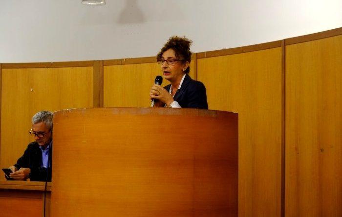 La sindaca di Decimomannu, Anna Paola Marongiu (foto Antonio Mallica)