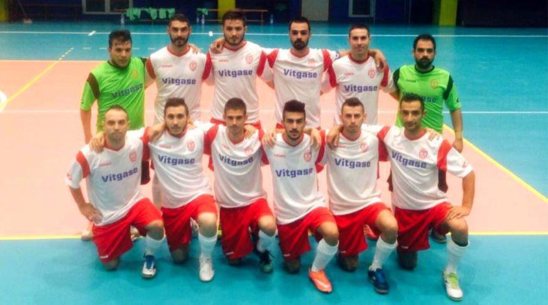 La squadra del Villaspeciosa Calcio a 5