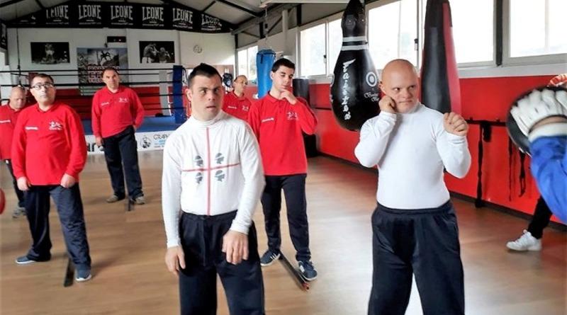 """Il progetto """"Un Pugno alla disabilità"""" organizzato dalla Shardana boxe"""