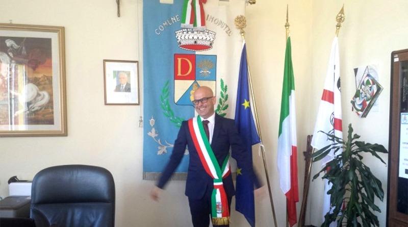 Il sindaco di Decimoputzu Alessandro Scano