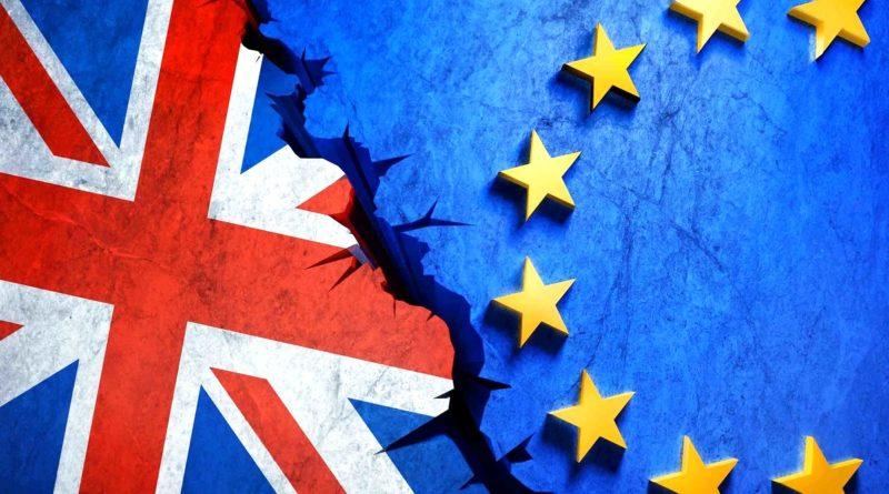 Bandiere Brexit