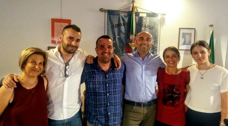 La nuova giunta del sindaco Massimo Pinna