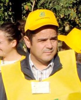 L'assessore all'Ambiente del Comune di Decimomannu, Massimiliano Mameli