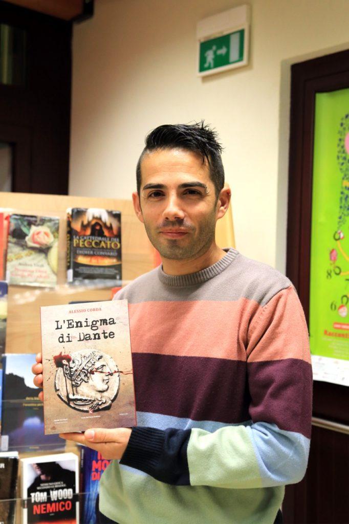 Lo scrittore Alessio Corda