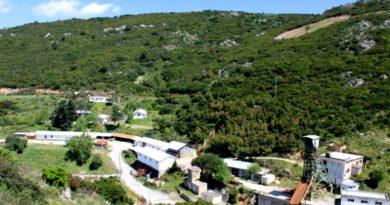 La miniera di Silius (foto Associazione Mineralogica Sarda)