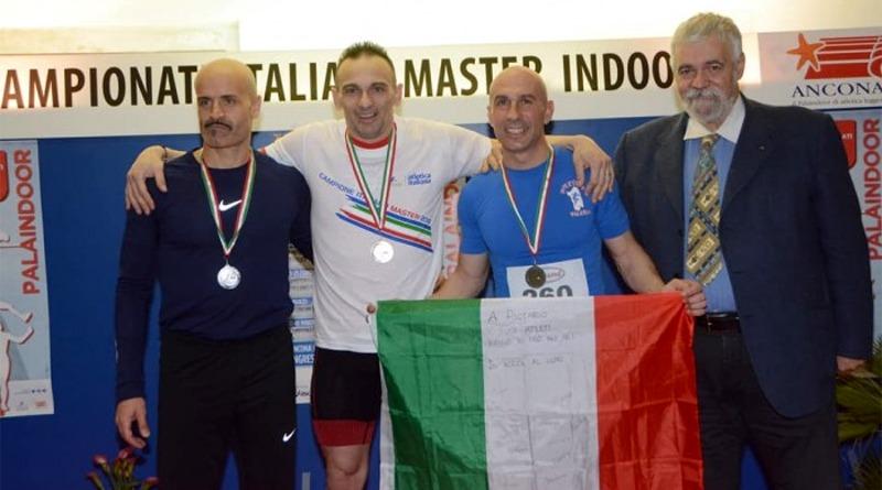 Riccardo Melis sul podio