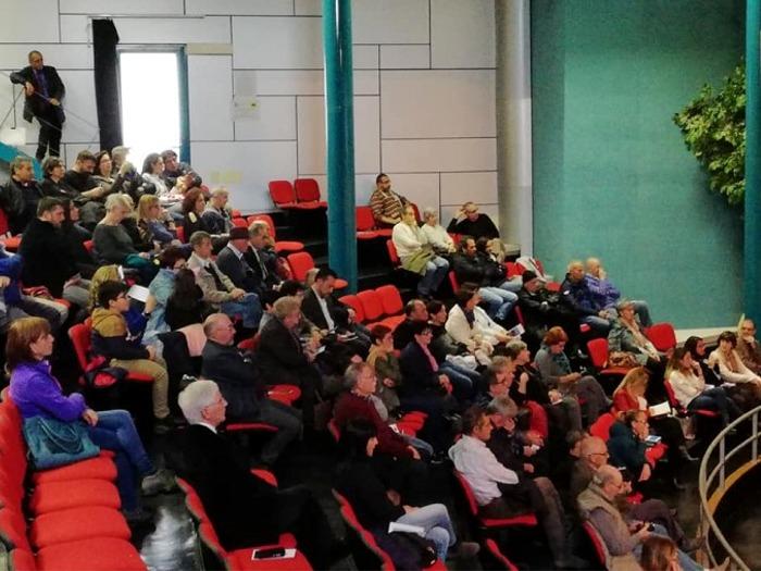 I partecipanti al convegno sulla tragedia del Moby Prince