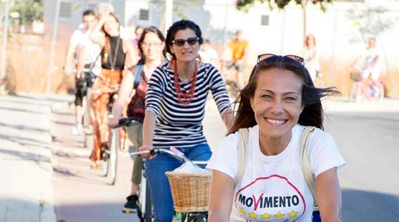 Sabrina Licheri in campagna elettorale - © foto Raffaele Schirra