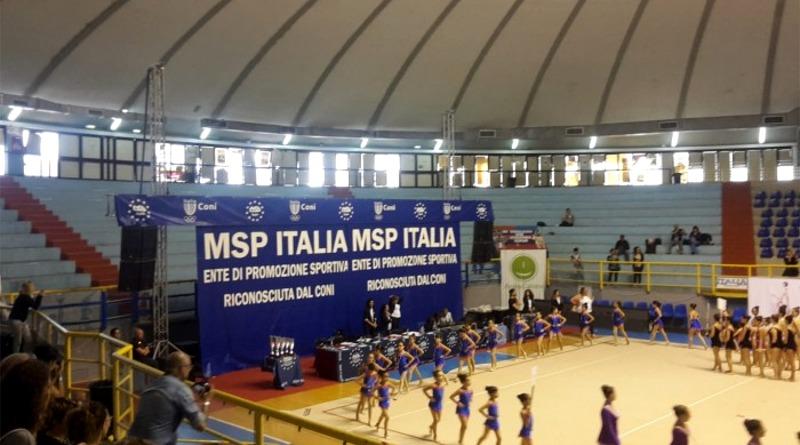 I Campionati Nazionali di Ginnastica Ritmica del circuito Msp Italia