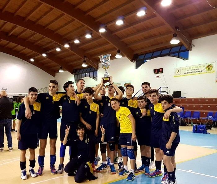Pallavolo Decimomannu campione regionale Under 16