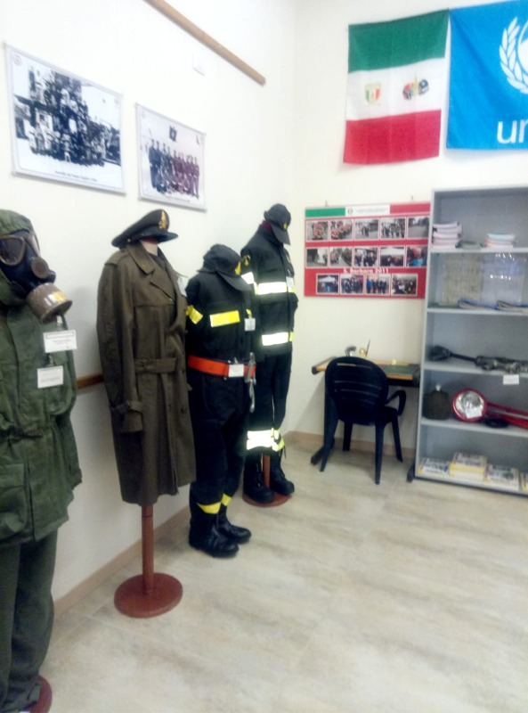 Museo sardo per la Memoria Storica dei Vigili del Fuoco (foto Luca Pes)