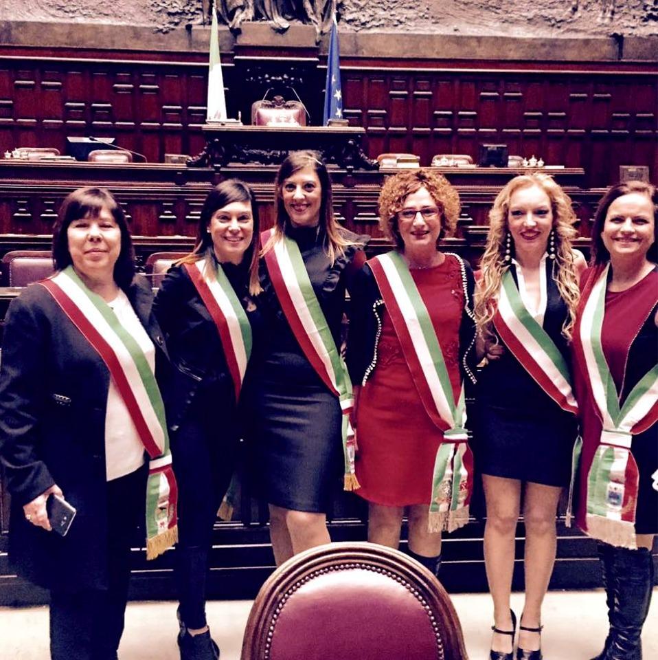 La sindaca di Decimomannu Anna Paola Marongiu e le donne in politica