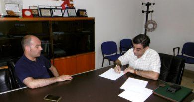 Intervista al sindaco di Uta Giacomo Porcu (foto Mare)