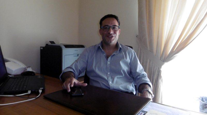 Il Sindaco di Villaspeciosa Gianluca Melis (foto Mare)