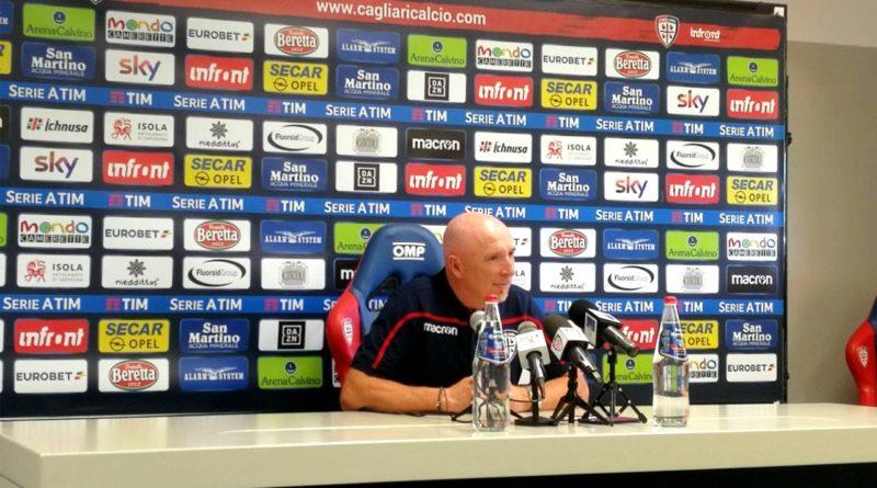 L'allenatore del Cagliari Rolando Maran (foto Alessio Caria)