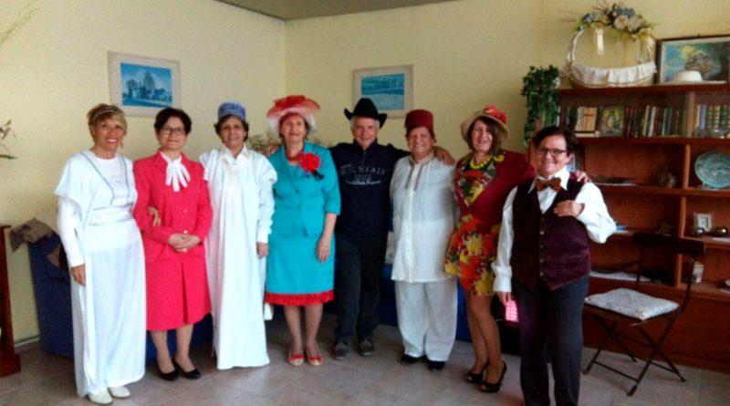 """Il gruppo teatrale """"Is Prendas"""" della Consulta delle donne di Villasor"""