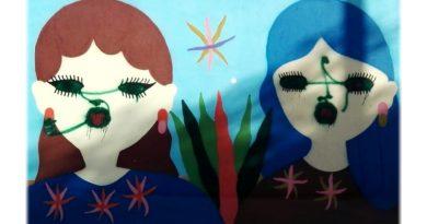 Il murale sfregiato