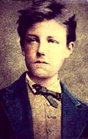 Il poeta francese Arthur Rimbaud (Charleville, 1854 - Marsiglia, 1891)