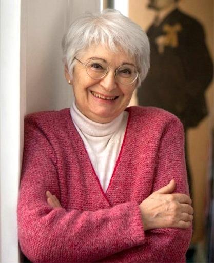 La scrittrice Bianca Pitzorno (Sassari, 1942)