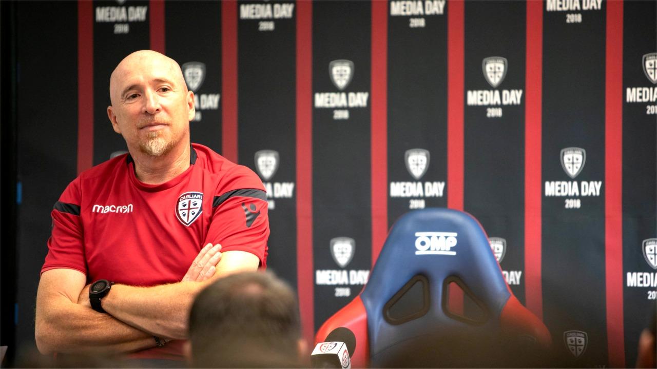 Rolando Maran (foto Paolo Mastrangelo - Cagliari Calcio)
