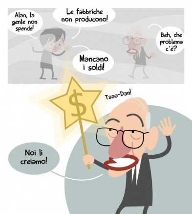 """Un fumetto tratto da """"Pop Economix"""""""