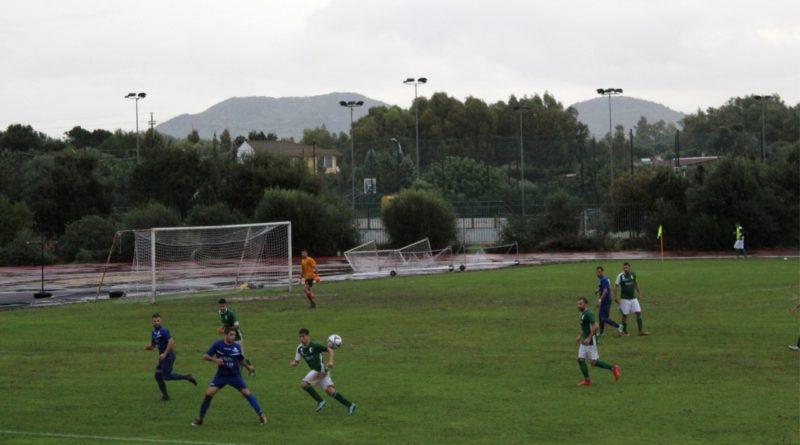 Un momento dell'incontro San Marco-Sant'Elena Quartu (foto Alessio Caria)