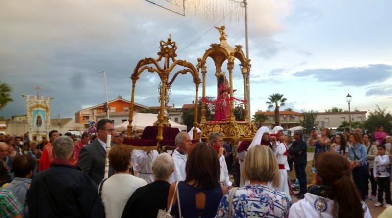 Processione di Santa Greca con la sua reliquia