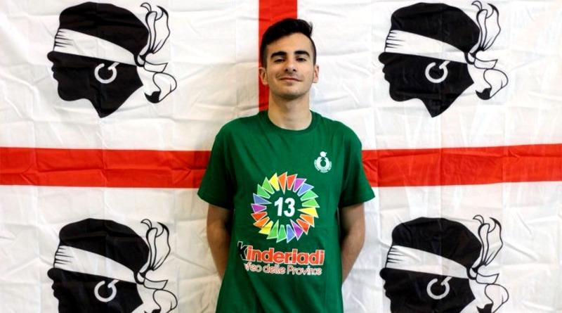 Stefano Caria, atleta della pallavolo Decimomannu
