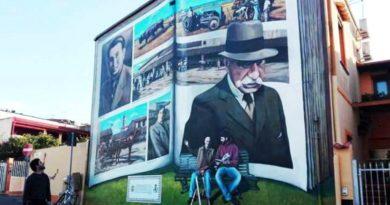 Il murale di Davide PILS Bo Pili in via Firenze