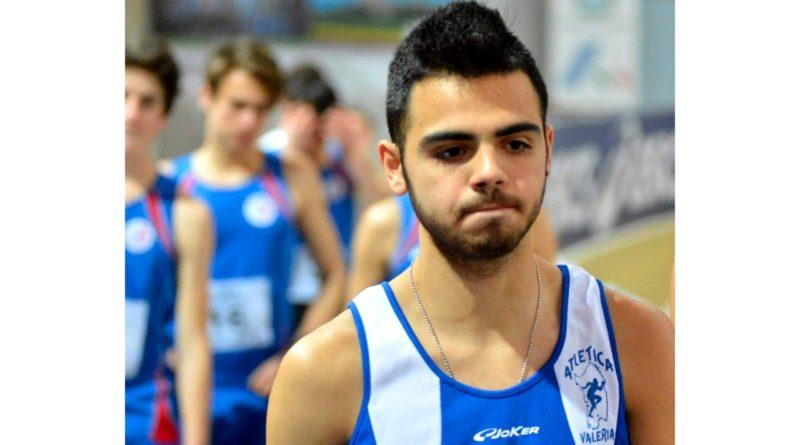 Stefano Cicalò, atleta dell'Atlatica Valeria di Decimomannu