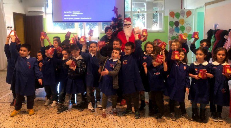 Babbo Natale nella scuola primaria di Decimoputzu