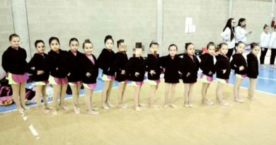 Le piccole atlete della ASD Gymnasium Athena