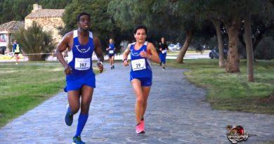 Un momento della corsa (foto MiaSardegna 2.0)