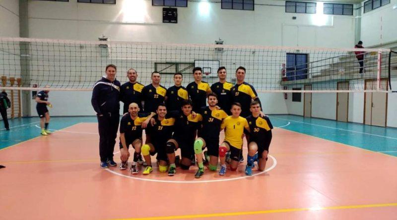 La prima squadra della Pallavolo Decimomannu