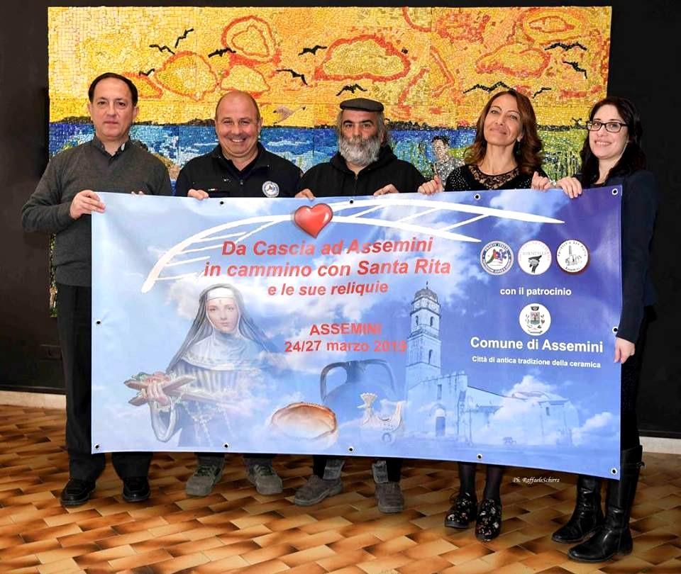 Gli organizzatori dell'evento (foto Raffaele Schirra)