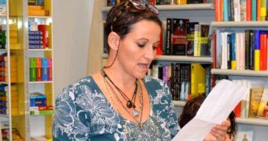 La scrittrice Daniela Mele