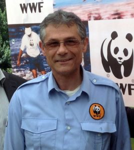 Antonello Loddo, coordinatore responsabile dell'oasi WWF