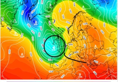 Tendenza e previsione meteo dal 23 al 28 aprile