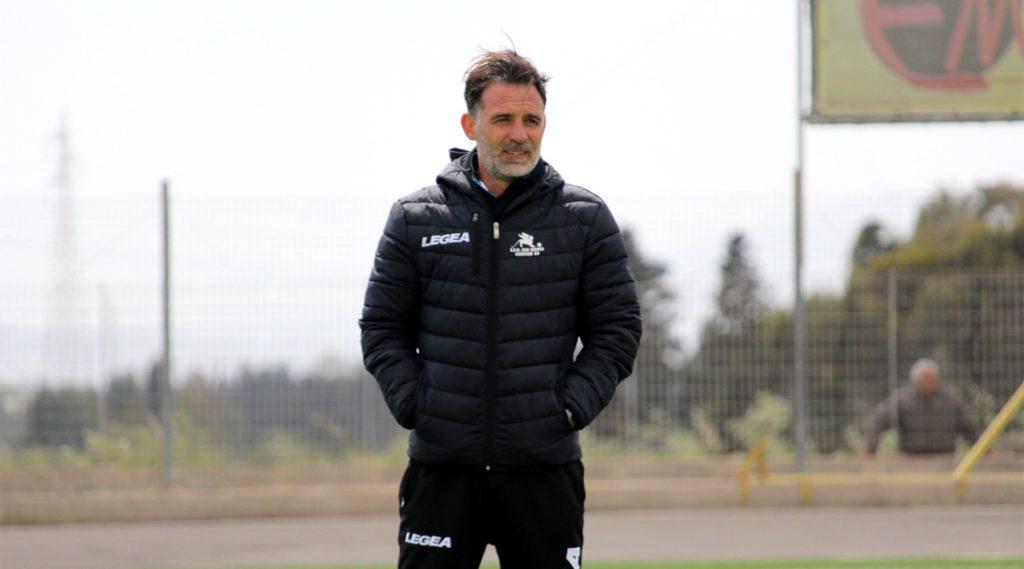 L'allenatore Riccardo Spini - © foto Elena Accardi - SSD San Marco Assemini 80
