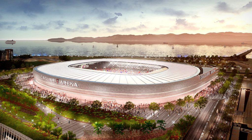 Nuovo stadio Cagliari Calcio