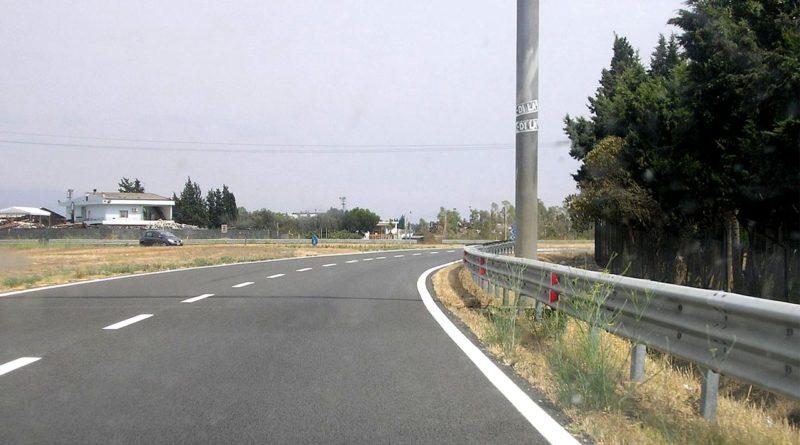 Un tratto della Strada Stalate 130